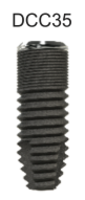 DC Cylindrical Implant 3.5 x 11mm
