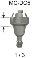 DC Compact Conical Abutment 5.0 x 1mm