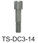 DC Titanium Hexed Screw M1.4