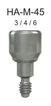 M-Series Healing Abutment 4.5mm x 4mm