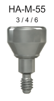 M-Series Healing Abutment 5.0mm x 6mm