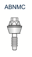 Compact Conical Abutment 3.25mm x 1mm
