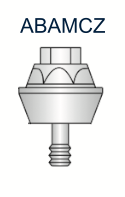 Compact Conical Abutment 2mm for 5.0mm Co-Axis