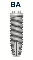 Ex-Hex Straight Implant 5mm x 8.5mm