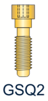 2 Series Gold Quad Screw