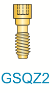 2 Series Gold Quad Z Screw (Short)