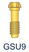 9 Series Gold Unigrip Screw