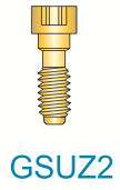 2 Series Gold Unigrip Z Screw (Short)