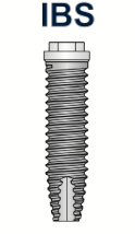 Ex-Hex Straight Implant 4.0mm x 15mm