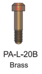 Brass Passive Abutment Screw 2mm