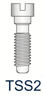 Titanium Slotted Screw Series 2