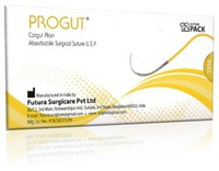 4-0 Progut Sutures 19mm RC 3/8C