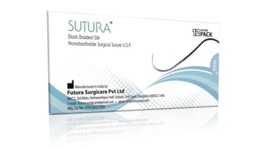 4-0 Sutura Sutures 19mm RC 3/8C
